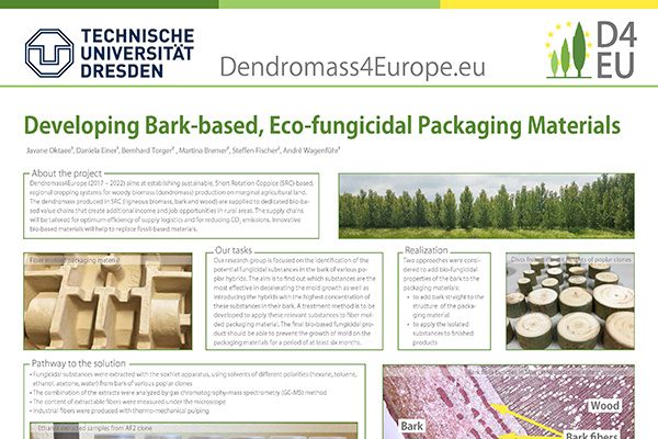 Poplars for Eco-fungicidal Packaging Materials