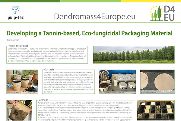 New research about Tannin-based, eco-fungicidal packaging